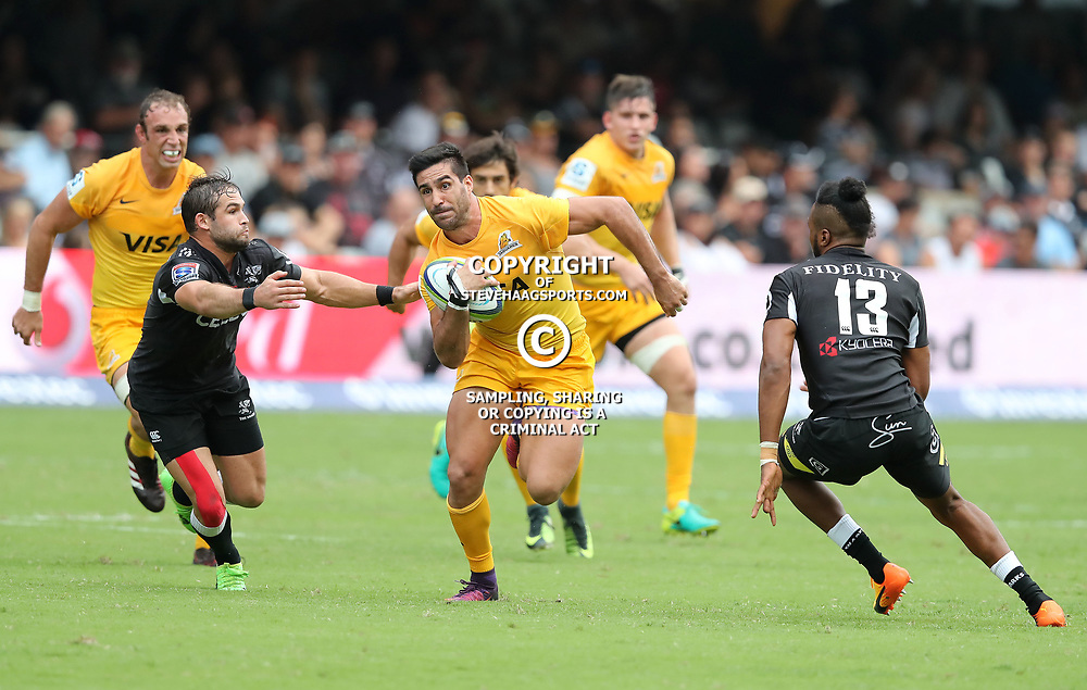 General views during the Super Rugby match between the Cell C Sharks and the Jaguares  April 8th 2017 - at Growthpoint Kings Park,Durban South Africa Photo by Agnes Brown (Steve Haag Sports)