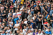 The Bolton Wanderers fans during the EFL Sky Bet League 1 match between Rotherham United and Bolton Wanderers at the AESSEAL New York Stadium, Rotherham, England on 14 September 2019.