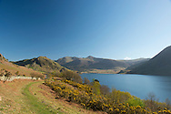 A view over Buttermere in the Lake District National Park, Cumbria, UK