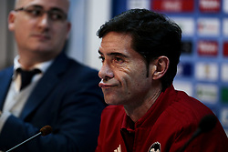 November 10, 2018 - Getafe, Madrid, Spain - Valencia CF's coach Marcelino Garcia during La Liga match between Getafe CF and Valencia CF at Coliseum Alfonso Perez in Getafe, Spain. November 10, 2018. (Credit Image: © A. Ware/NurPhoto via ZUMA Press)