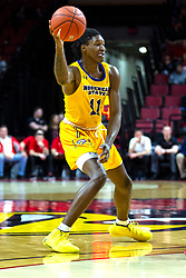 NORMAL, IL - December 07: Julius Dixon during a college basketball game between the ISU Redbirds and the Morehead State Eagles on December 07 2019 at Redbird Arena in Normal, IL. (Photo by Alan Look)