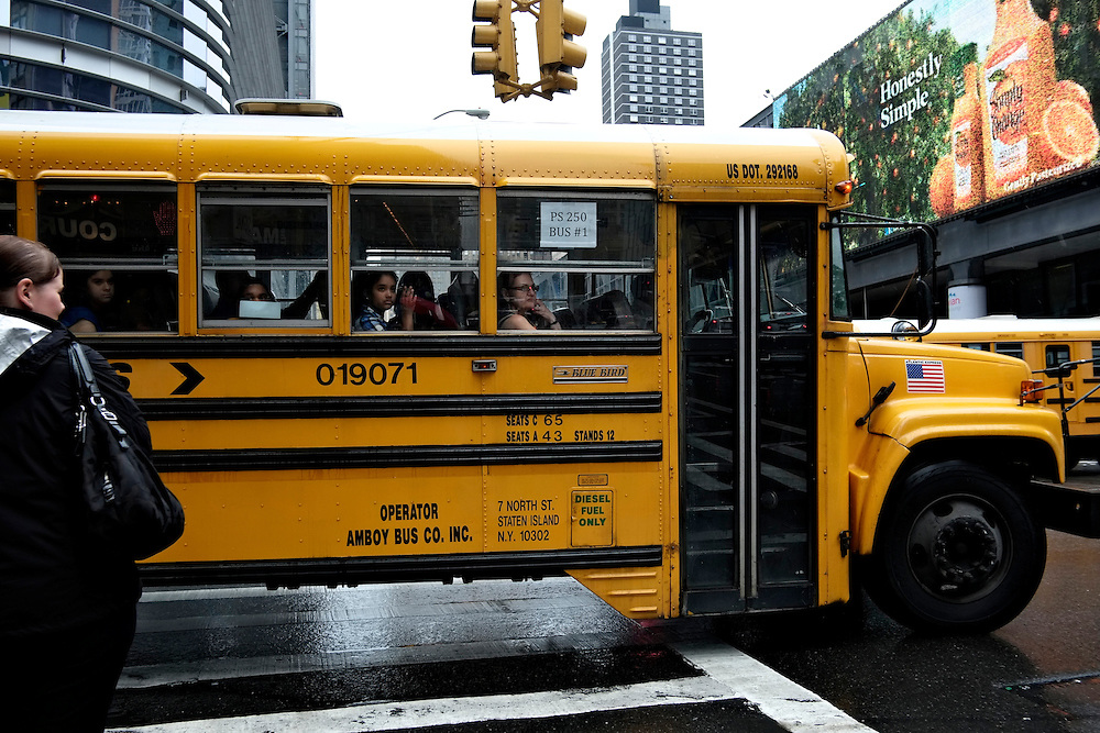 School bus. New York, NY