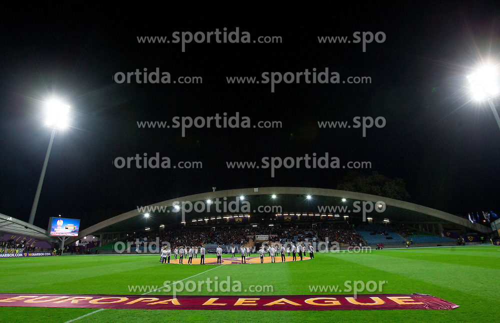 Stadium Ljudski vrt prior to the football match between NK Maribor and Panathinaikos Athens F.C. (GRE) in 1st Round of Group Stage of UEFA Europa league 2013, on September 20, 2012 in Stadium Ljudski vrt, Maribor, Slovenia. Maribor defeated Panathinaikos 3-0. (Photo By Vid Ponikvar / Sportida)