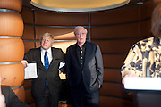 MAYOR BORIS JOHNSON; SIR MICHAEL CAINE, The Galleries of Modern London launch party at the Museum of London on May 27, 2010 in London. <br /> -DO NOT ARCHIVE-© Copyright Photograph by Dafydd Jones. 248 Clapham Rd. London SW9 0PZ. Tel 0207 820 0771. www.dafjones.com.