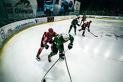 CHVATAL Aljaž of HDD Olimpija during 500th derbi between HK SZ Olimpija Ljubljana vs HDD SIJ Acroni Jesenice  - AHL 2019/20, on the 26th of  Oktober, Ljubljana, Slovenia. Photo by Matic Ritonja / Sportida
