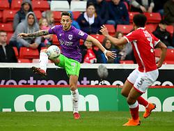 Josh Brownhill of Bristol City controls the ball - Mandatory by-line: Robbie Stephenson/JMP - 30/03/2018 - FOOTBALL - Oakwell Stadium - Barnsley, England - Barnsley v Bristol City - Sky Bet Championship