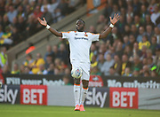 Hull City's Adama Diomande during the EFL Sky Bet Championship match between Norwich City and Hull City at Carrow Road, Norwich, England on 14 October 2017. Photo by John Marsh.