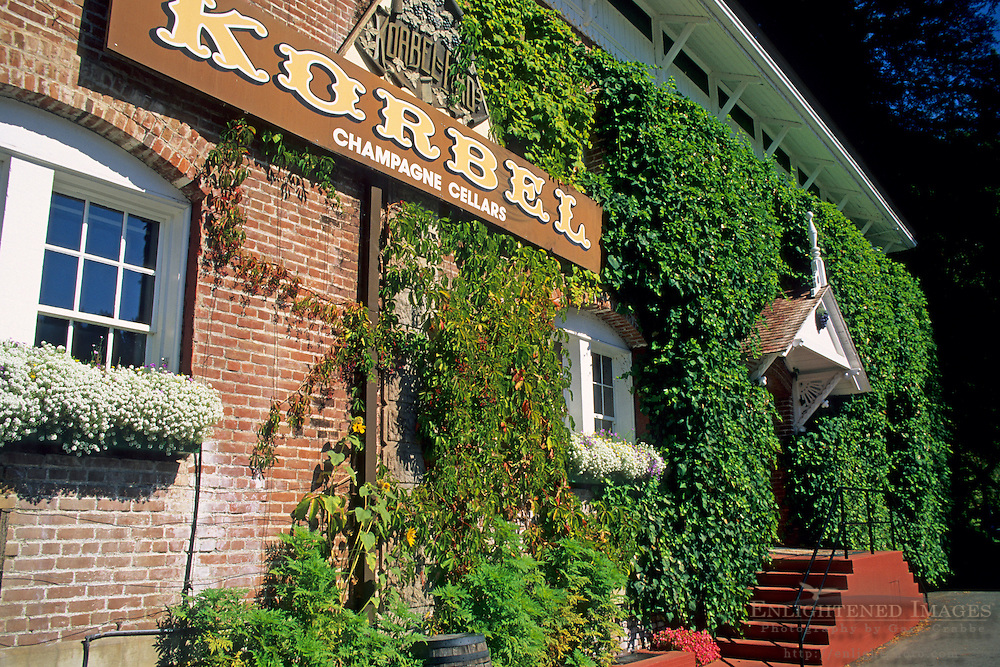 Korbel, along the Russian River, Sonoma County, California