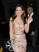 28.JUNE.2012. LONDON<br /> <br /> KELLY BROOK ARRIVING BACK HOME AFTER ATTENDING ELTON JOHN'S BLACK &amp; WHITE TIARA BALL IN WINDSOR.<br /> <br /> BYLINE: EDBIMAGEARCHIVE.CO.UK<br /> <br /> *THIS IMAGE IS STRICTLY FOR UK NEWSPAPERS AND MAGAZINES ONLY*<br /> *FOR WORLD WIDE SALES AND WEB USE PLEASE CONTACT EDBIMAGEARCHIVE - 0208 954 5968*