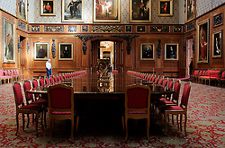 UK ENGLAND BERKSHIRE WINDSOR 2APR06 - Interior of the State Apartments at Windsor Castle, residence of HM The Queen Elizabeth II. Windsor Castle is an official residence of The Queen and the largest occupied castle in the world. A Royal home and fortress for over 900 years, the Castle remains a working palace today...jre/Photo by Jiri Rezac..© Jiri Rezac 2006..Contact: +44 (0) 7050 110 417.Mobile:  +44 (0) 7801 337 683.Office:  +44 (0) 20 8968 9635..Email:   jiri@jirirezac.com.Web:    www.jirirezac.com..© All images Jiri Rezac 2006 - All rights reserved.