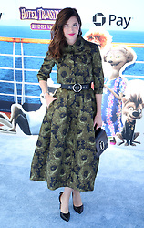 "Kathryn Hahn at the premiere of ""Hotel Transylvania 3: Summer Vacation"" held at the Westwood Village Theatre in Los Angeles"