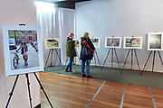 Warsaw, Poland - 2017 April 09:  Photo Exhibition &quot;Bikers&quot;  by Adam Nurkiewicz while Bike &amp; Fasion Fair at Jablkowski Brothers Trading House on April 09, 2017 in Warsaw, Poland.<br /> <br /> Mandatory credit:<br /> Photo by &copy; Adam Nurkiewicz / Mediasport<br /> <br /> Adam Nurkiewicz declares that he has no rights to the image of people at the photographs of his authorship.<br /> <br /> Picture also available in RAW (NEF) or TIFF format on special request.<br /> <br /> Any editorial, commercial or promotional use requires written permission from the author of image.