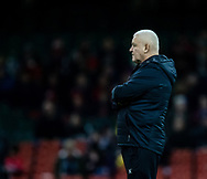 head coach Warren Gatland of Barbarians  during the pre match warm up<br /> <br /> Photographer Simon King/Replay Images<br /> <br /> Friendly - Wales v Barbarians - Saturday 30th November 2019 - Principality Stadium - Cardiff<br /> <br /> World Copyright © Replay Images . All rights reserved. info@replayimages.co.uk - http://replayimages.co.uk