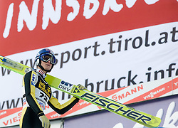 Thomas Morgenstern of Austria after he competed during Final round of the FIS Ski Jumping World Cup event of the 58th Four Hills ski jumping tournament, on January 3, 2010 in Bergisel, Innsbruck, Austria.(Photo by Vid Ponikvar / Sportida)