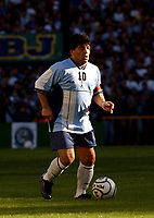 10/11/01 - Bs.As. - Argentina - DIEGO ARMANDO MARADONA - TRIBUTE MATCH -<br />