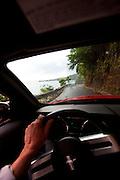 Driving, road to Hana. Maui, hawaii