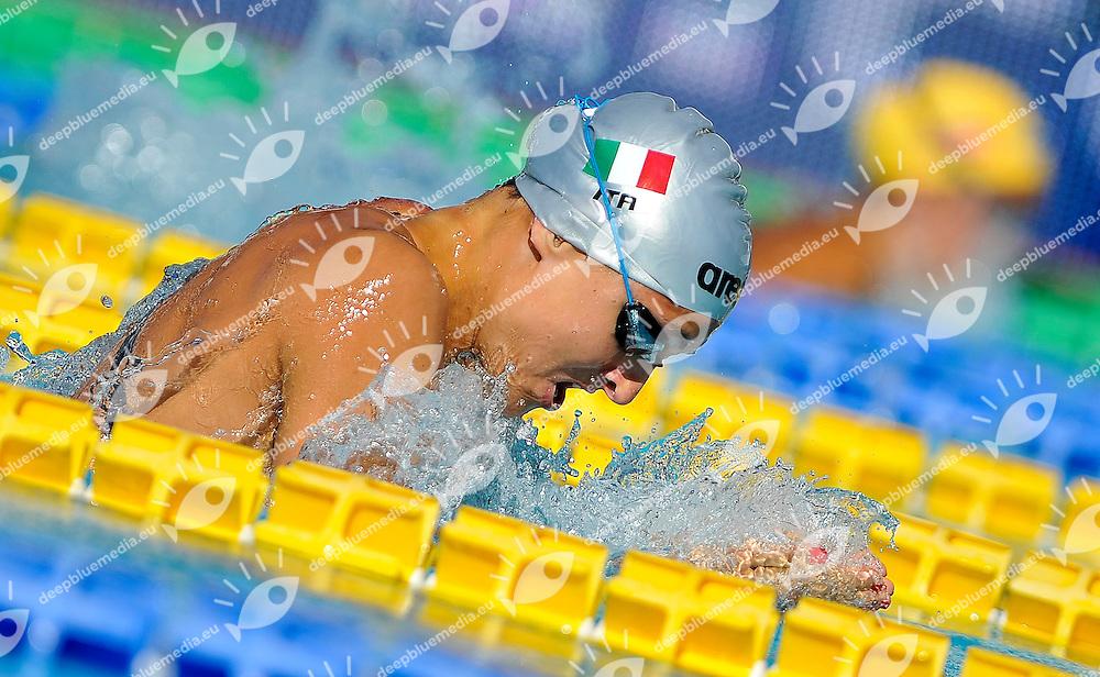 GUZZETTI Michela ITA<br /> Italian Team<br /> 100 Breststroke Final A Women<br /> 50 Settecolli Trofeo Internazionale di nuoto 2013<br /> swimming<br /> Roma, Foro Italico  12 - 15/06/2013<br /> Day01<br /> Photo Andrea Masini/Deepbluemedia/Insidefoto