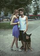 Theresa, Ananda & friend
