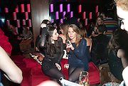 GALA GORDON; POLLY MEYER; , The Tatler Little Black Book party. Chinawhite club. London. 21 November 2009