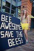 Save the Bees Rally Eugene July 2013