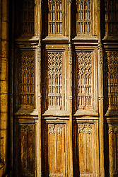 Entrance door of the Notre Dame church in Beaune, Burgundy, France<br /> <br /> (c) Andrew Wilson | Edinburgh Elite media