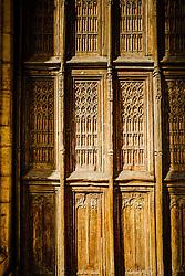 Entrance door of the Notre Dame church in Beaune, Burgundy, France<br /> <br /> (c) Andrew Wilson | Edinburgh Elite media