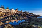 Pemaquid Point Lighthouse, Bristol, Maine, USA.