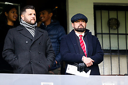 Bristol City CEO Mark Ashton watches from the directors box - Rogan/JMP - 07/12/2019 - Craven Cottage - London, England - Fulham v Bristol City - Sky Bet Championship.