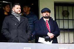 Bristol City CEO Mark Ashton watches from the directors box - Rogan/JMP - 07/12/2019 - Craven Cottage - London, England - Fulham v Bristol City - Sky Bet Championship.