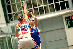 27-04-2006 BASKETBAL: PLAY OFF: BV LELY - CBV BINNENLAND: AMSTERDAM<br /> Binnenland wint ook de tweede wedstrijd en staat nu in de halve finale / Heleen van Stralen<br /> ©2006-WWW.FOTOHOOGENDOORN.NL