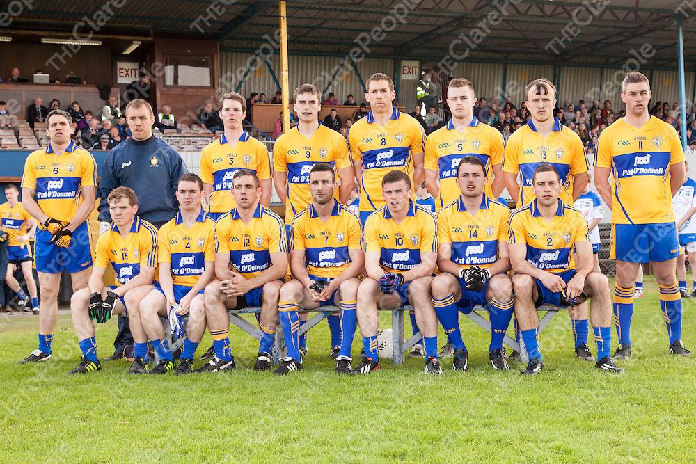 Clare Senior Football Team Photograph