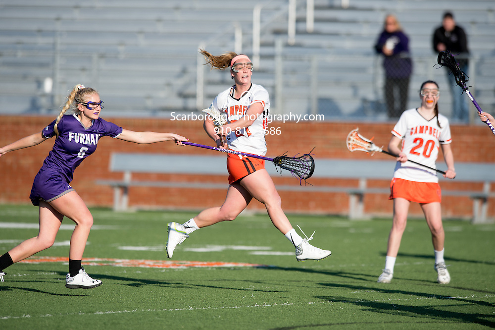 2015 Campbell University Lacrosse vs Furman