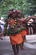 Young Dancers, Omoa, Fatu Hiva, Marquesas, French Polynesia (editiorial use only, not model released)<br />