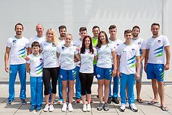 at press conference before European Championship 2018 Glasgow, on July 26, 2018 in Gimnasticna dvorana, Ljubljana, Slovenia. Photo by Matic Klansek Velej / Sportida