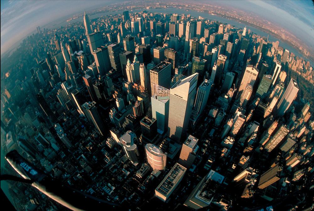 Midtown Manhattan Aerial, New York City, NY