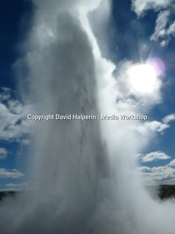 "Strokkur (""Stroke"") geyser: 2 of 3 time-lapse"