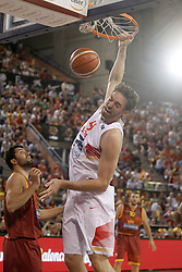 25.08.2015, Palacio de los Deportes de La Rioja, Logrono, ESP, Basketball Testspiel, Spanien vs Mazedonien, im Bild Spain's Pau Gasol // during a International Basketball Friendly Match between Spain and Macedonia at the Palacio de los Deportes de La Rioja in Logrono, Spain on 2015/08/25. EXPA Pictures © 2015, PhotoCredit: EXPA/ Alterphotos/ Acero<br /> <br /> *****ATTENTION - OUT of ESP, SUI*****
