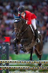 Kimberly Severson, (USA), Fernhill Fearless - Jumping Eventing - Alltech FEI World Equestrian Games™ 2014 - Normandy, France.<br /> © Hippo Foto Team - Leanjo De Koster<br /> 31-08-14