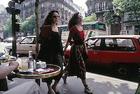 women walking in Paris