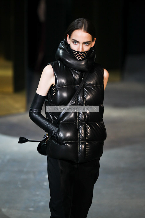 Zuzanna Bijoch walks down runway for F2012 Alexander Wang's collection in Mercedes Benz fashion week in New York on Feb 12, 2012 NYC