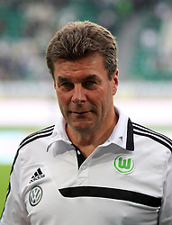 01.09.2013, Volkswagen Arena, Wolfsburg, GER, 1. FBL, VfL Wolfsburg vs Hertha BSC, 4. Runde, im Bild Cheftrainer Dieter Hecking (VfL Wolfsburg) // during the German Bundesliga 4th round match between VfL Wolfsburg and Hertha BSC at the Volkswagen Arena, Wolfsburg, Germany on 2013/09/01. EXPA Pictures © 2013, PhotoCredit: EXPA/ Eibner/ Global<br /> <br /> ***** ATTENTION - AUSTRIA ONLY *****