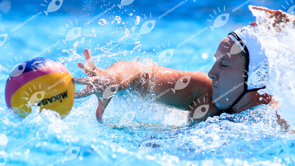 Melisa Seideman of United states of america <br /> USA (White cap) vs Spain (Blue Cap) Water Polo - Preliminary round<br /> Day 05 18/07/2017 <br /> XVII FINA World Championships Aquatics<br /> Alfred Hajos Complex Margaret Island  <br /> Budapest Hungary July 15th - 30th 2017 <br /> Photo @Marcelterbals/Deepbluemedia/Insidefoto