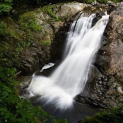 Garfield Falls in Pittsburg New Hampshire USA