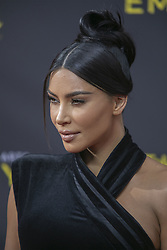 September 14, 2019, Los Angeles, California, United States of America: Kim Kardashian at the red carpet of the 2019 Creative Arts Emmy Awards on Saturday September 14, 2019 at the Microsoft Theater in Los Angeles, California. JAVIER ROJAS/PI (Credit Image: © Prensa Internacional via ZUMA Wire)