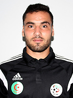 Confederation of African Football - World Cup Fifa Russia 2018 Qualifier / <br /> Algeria National Team - Preview Set - <br /> Mohamed Khoutir Ziti