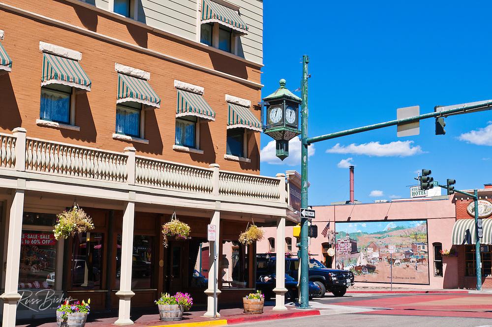 Downtown historic district, Durango, Colorado USA