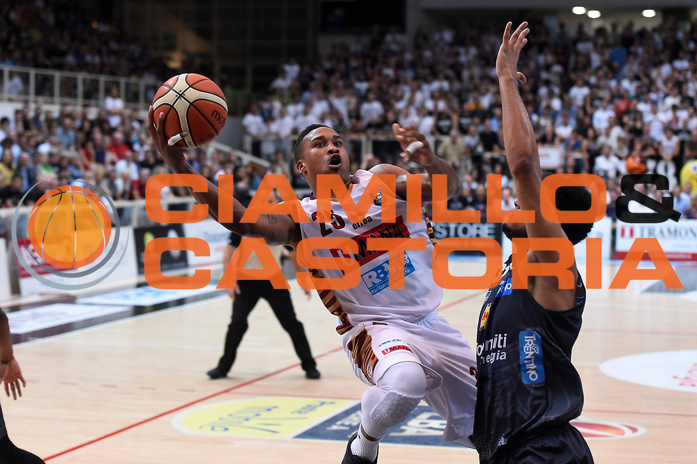 Tyrus Mcgee<br /> Dolomiti Energia Aquila Basket Trento - Umana Reyer Venezia <br /> Lega Basket Serie A 2016/17 Finali Gara 04<br /> Trento, 16/06/2017<br /> Foto Ciamillo-Castoria