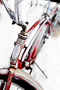 "SHOT 2/12/12 1:29:27 PM - A snow covered Schwinn cruiser bike on Elk Avenue in Crested Butte, Co. Crested Butte is a Home Rule Municipality in Gunnison County, Colorado, United States. A former coal mining town now called ""the last great Colorado ski town"", Crested Butte is a destination for skiing, mountain biking, and a variety of other outdoor activities. The population was 1,529 at the 2000 census. The Colorado General Assembly has designated Crested Butte the wildflower capital of Colorado. The primary winter activity in Crested Butte is skiing or snowboarding at nearby Crested Butte Mountain Resort in Mount Crested Butte, Colorado. Backcountry skiing in the surrounding mountains is some of the best in Colorado. The mountain, Crested Butte, rises to 12,162 feet (3,700 m) above sea level..(Photo by Marc Piscotty / © 2012)"
