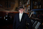 """San Francisco, April 3 2012 - Giovanni Giotta (aka """"Papa Gianni""""), owner of the Caffe Trieste in the North Beach area, where many poets and artists used to meet since it opened in 1956."""
