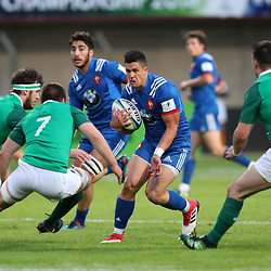Adrien Seguret of France U20 during the U20 World Championship match between France and Ireland on May 30, 2018 in Perpignan, France. (Photo by Manuel Blondeau/Icon Sport)
